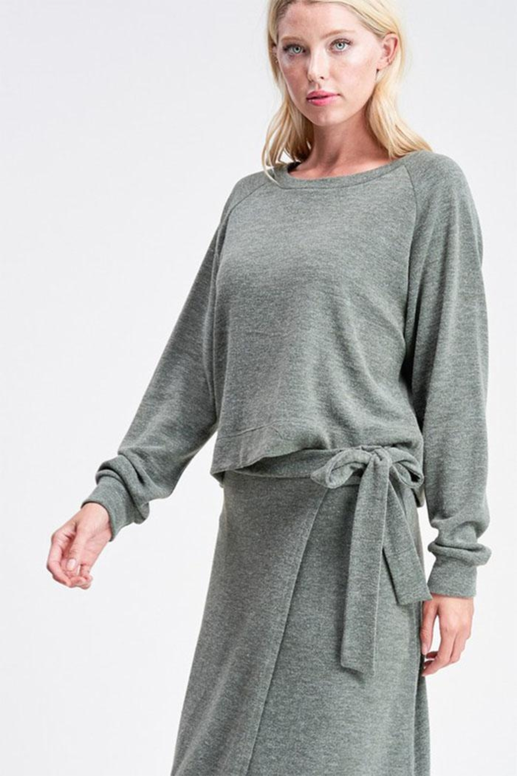 Jolie Pullover Sweater Top - Main Image