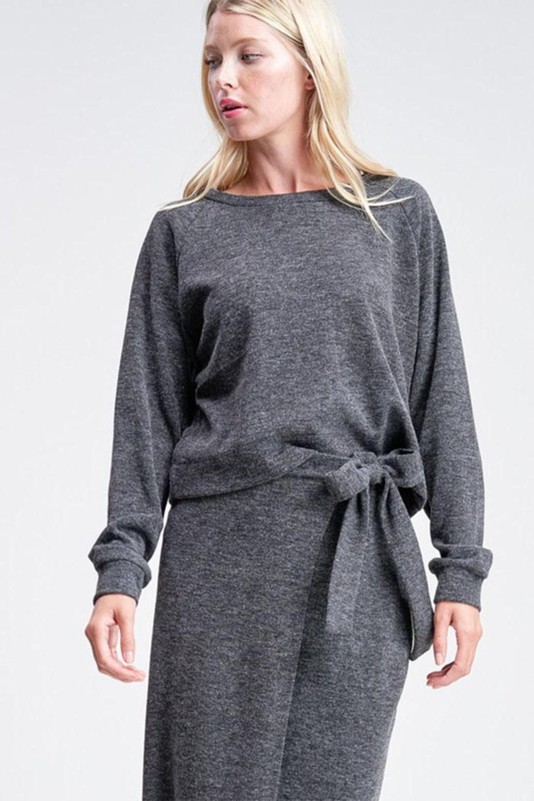 Jolie Pullover Sweater Top - Front Cropped Image