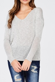 Jolie Solid Dolman Sweater - Product Mini Image