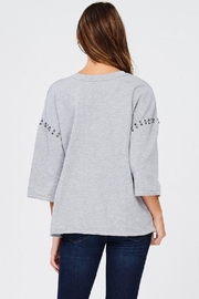 Jolie Stud Detail Sweater - Other