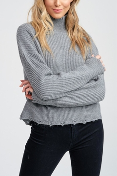 Jolie Sweet Distressed Sweater - Product List Image