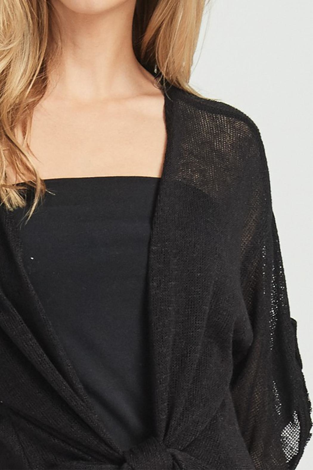 Jolie Tie Front Duster - Back Cropped Image