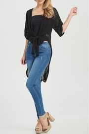 Jolie Tie Front Duster - Side cropped