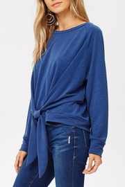 Jolie Tie Front Tee - Side cropped