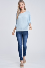 Jolie Tie Sleeve Top - Product Mini Image