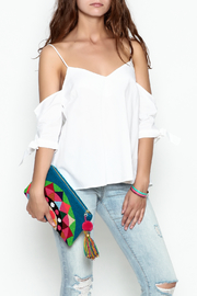 Jolie Tie Sleeve Top - Side cropped