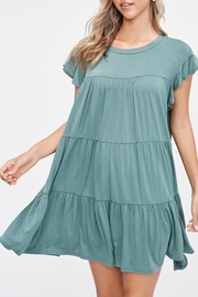 Jolie Tiered Trapeze Dress - Side cropped