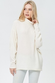 Jolie Turtle Neck Sweater - Front cropped