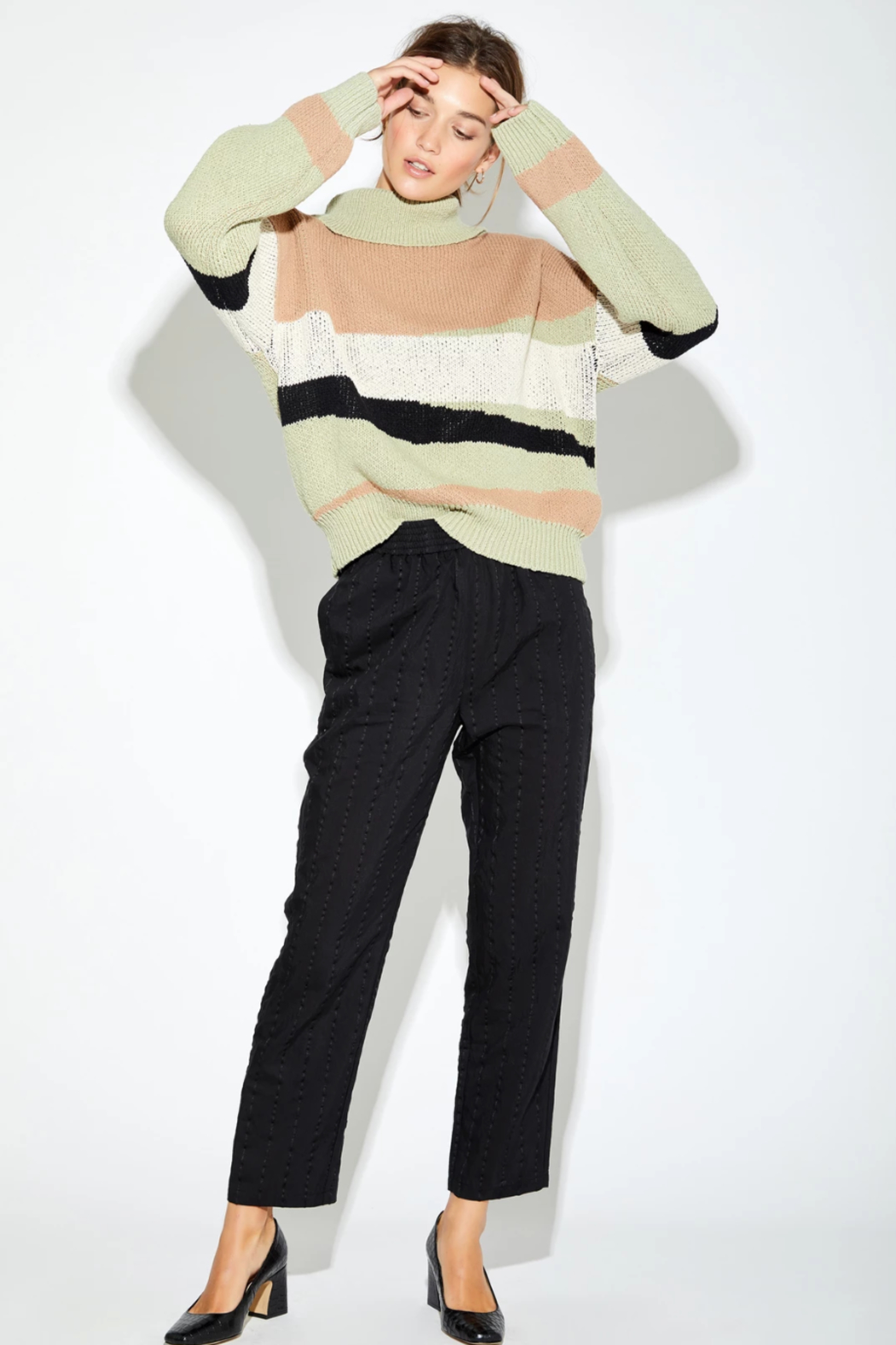 Callahan Jolie Turtleneck - Front Cropped Image