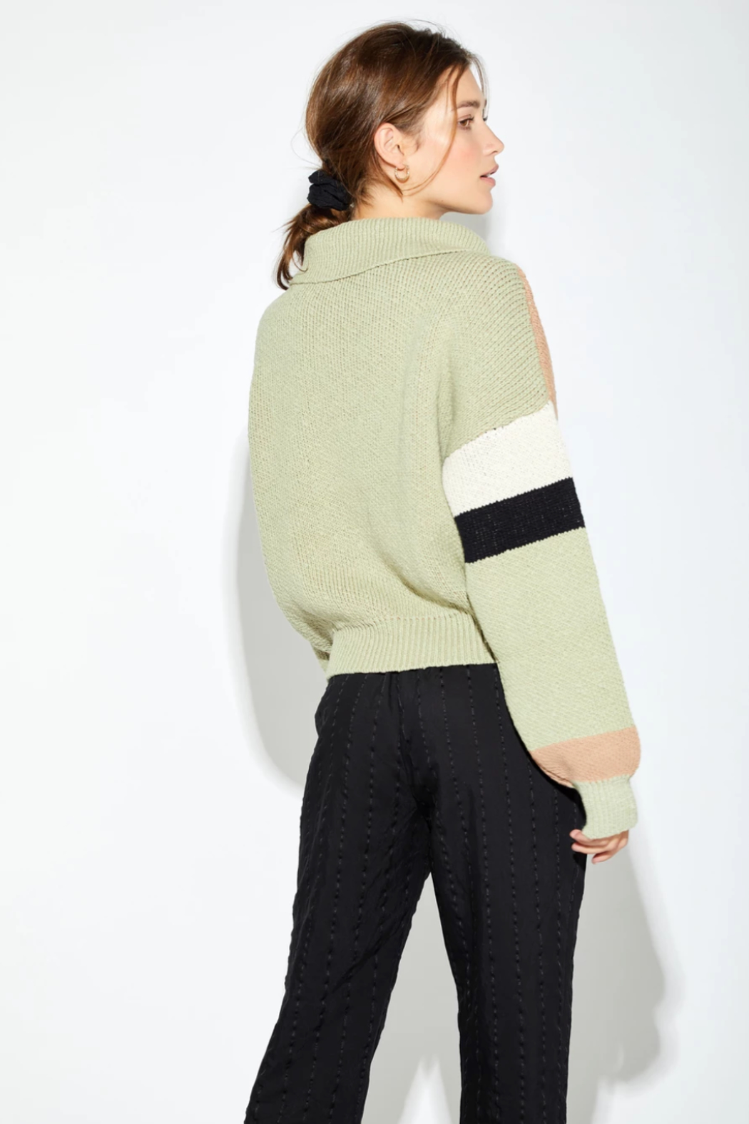 Callahan Jolie Turtleneck - Back Cropped Image