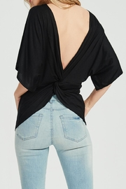 Jolie Twist Back Sweater - Front cropped