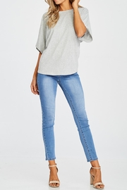 Jolie Twist Back Sweater - Front full body