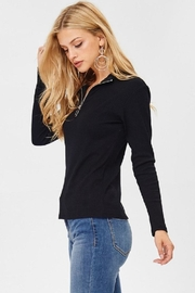 Jolie Zip Front Top - Side cropped