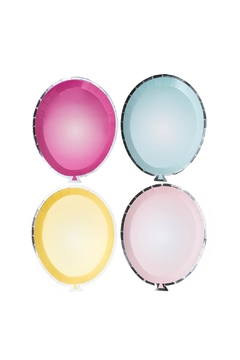 Jollity & Co Balloon Plates Mixed Pack - Alternate List Image