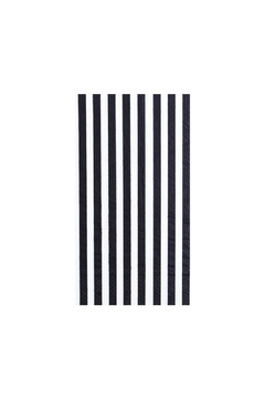 Jollity & Co Black & White Striped Guest Napkins - Alternate List Image