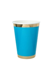 Jollity & Co Blue My Mind Paper Cups - Product Mini Image