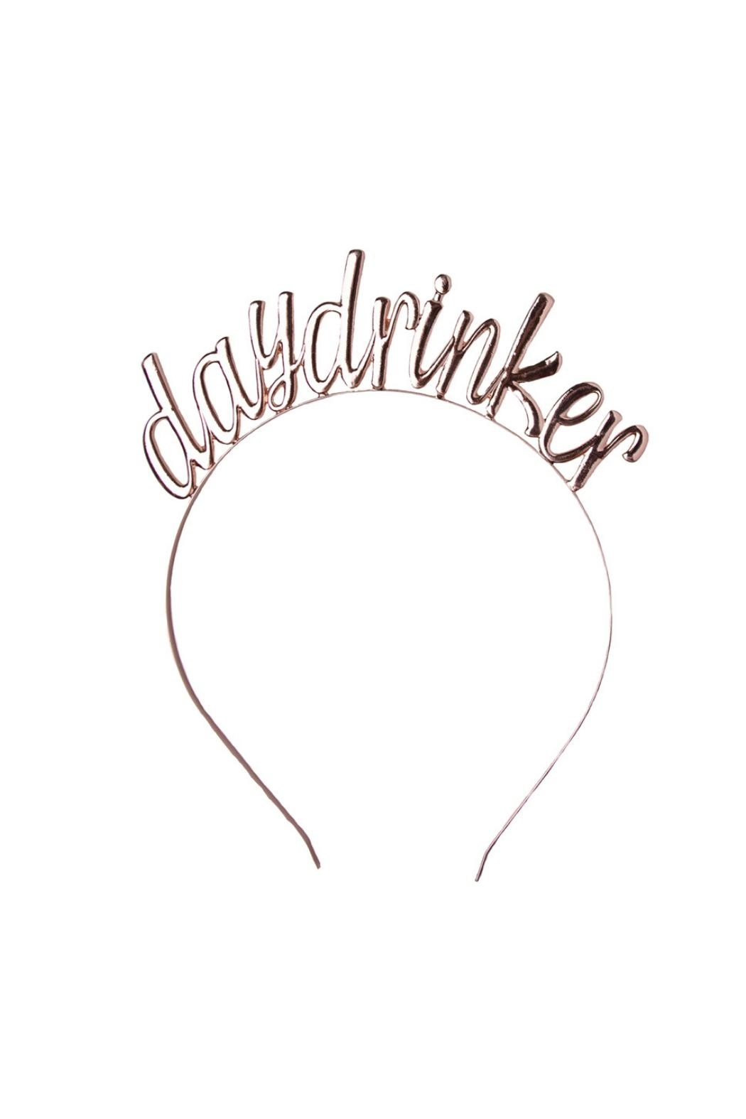 Jollity & Co Day Drinker Headbands - Front Cropped Image