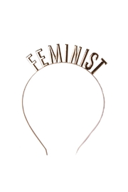 Jollity & Co Feminist Headbands - Front cropped