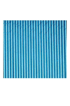 Jollity & Co Foil Paper Straws, Aqua - Alternate List Image