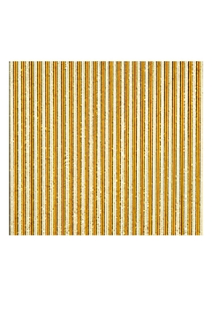 Jollity & Co Foil Paper Straws, Gold - Alternate List Image