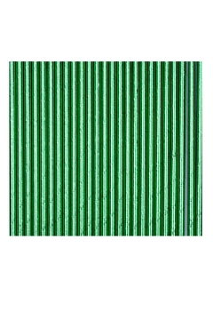 Jollity & Co Foil Paper Straws, Green - Alternate List Image