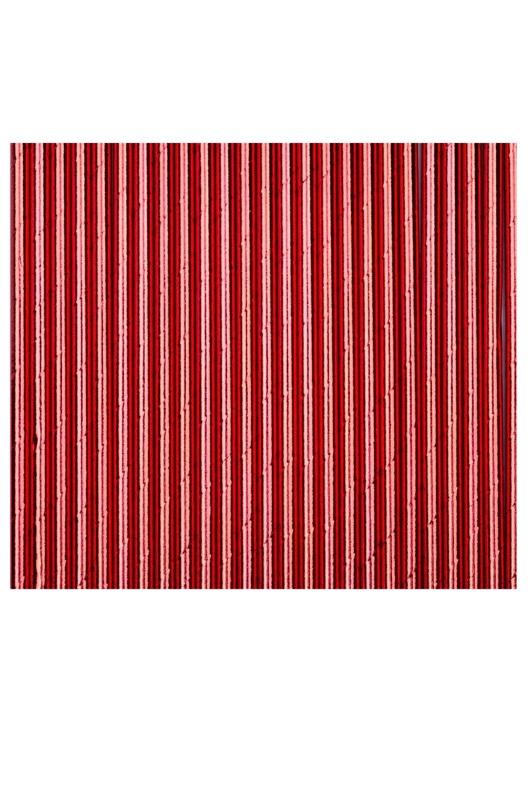 Jollity & Co Foil Paper Straws, Red - Main Image