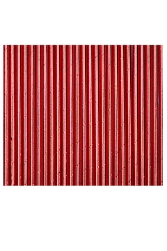 Jollity & Co Foil Paper Straws, Red - Alternate List Image