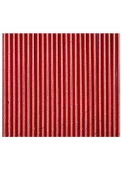 Jollity & Co Foil Paper Straws, Red - Product Mini Image