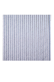 Jollity & Co Foil Paper Straws, Silver - Product Mini Image