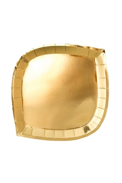 Shoptiques Product: Gold To Go Dinner Plates