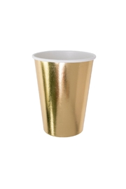 Jollity & Co Gold To Go Paper Cups - Product Mini Image