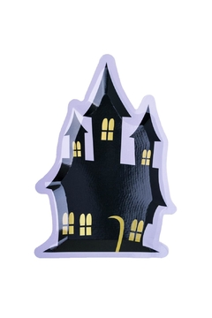 Jollity & Co Haunted House Die-Cut Dessert Plates - Product List Image