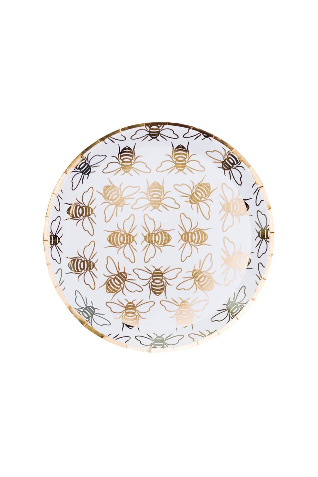 Jollity & Co Hey, Bae-Bee Dessert Plates - Main Image