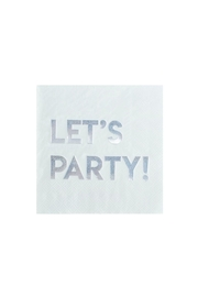 Jollity & Co Let's Party Cocktail Napkins - Product Mini Image