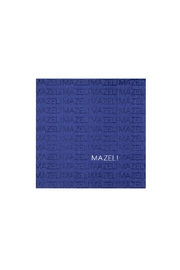 Jollity & Co Mazel Cocktail Napkins, Navy - Front cropped