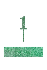 Jollity & Co Number 1 Cake Toppers - Front cropped