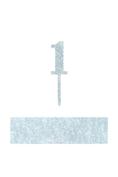 Shoptiques Product: Number 1 Cake Toppers