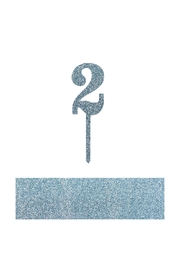 Jollity & Co Number 2 Cake Toppers - Front cropped