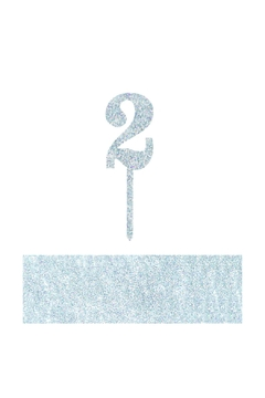 Shoptiques Product: Number 2 Cake Toppers