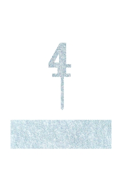Shoptiques Product: Number 4 Cake Toppers