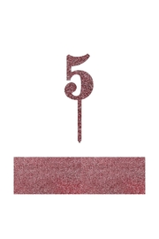 Jollity & Co Number 5 Cake Toppers - Product Mini Image