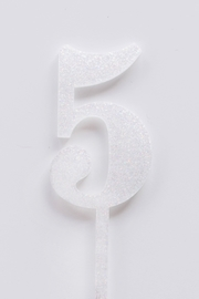 Jollity & Co Number 5 Cake Toppers - Side cropped