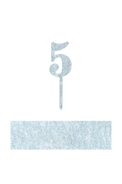 Shoptiques Product: Number 5 Cake Toppers