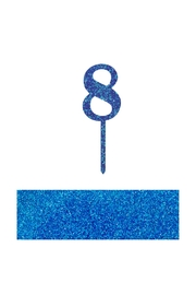 Jollity & Co Number 8 Cake Toppers - Front cropped
