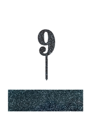 Jollity & Co Number 9 Cake Toppers - Front cropped