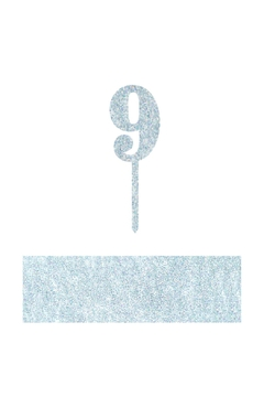 Shoptiques Product: Number 9 Cake Toppers