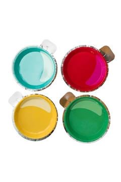 Jollity & Co Ornament Canapé Plates - Product List Image
