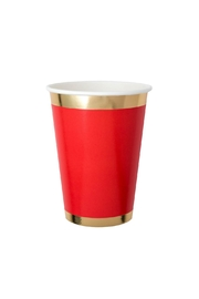 Jollity & Co Ruby Kiss Paper Cups - Product Mini Image