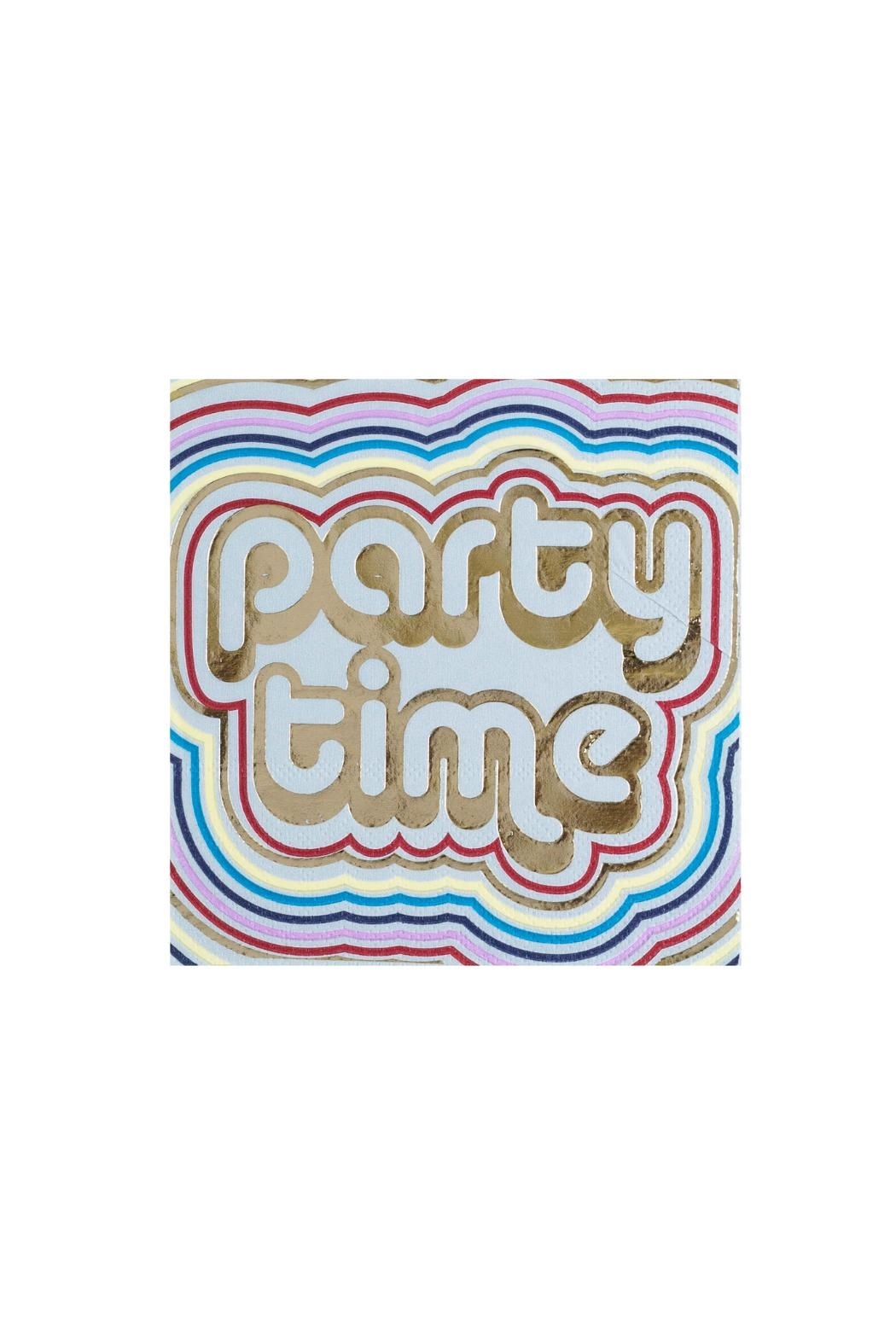 Jollity & Co Party Time Cocktail Napkins - Main Image