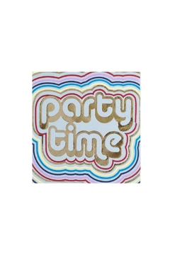 Jollity & Co Party Time Cocktail Napkins - Alternate List Image